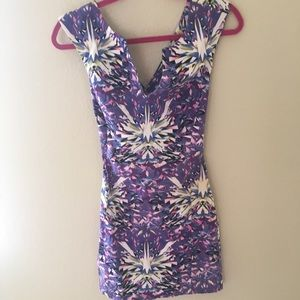 ASOS PURPLE STAR DRESS